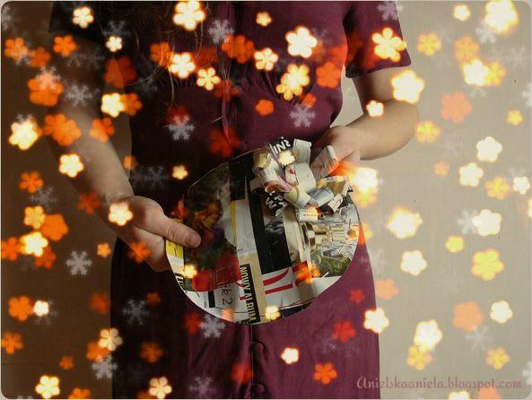 Creative Wrapping Idea / jak zapakować prezent ? /  krok po kroku /  kolaż recycling