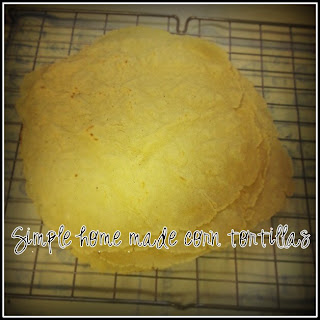 home made corn tortillas how to make