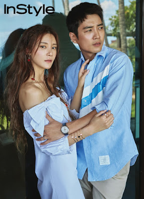 Cha Ye Ryun Joo Sang Wook InStyle June 2017