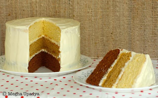 Layer Cake Sans Gluten Ni Lactose
