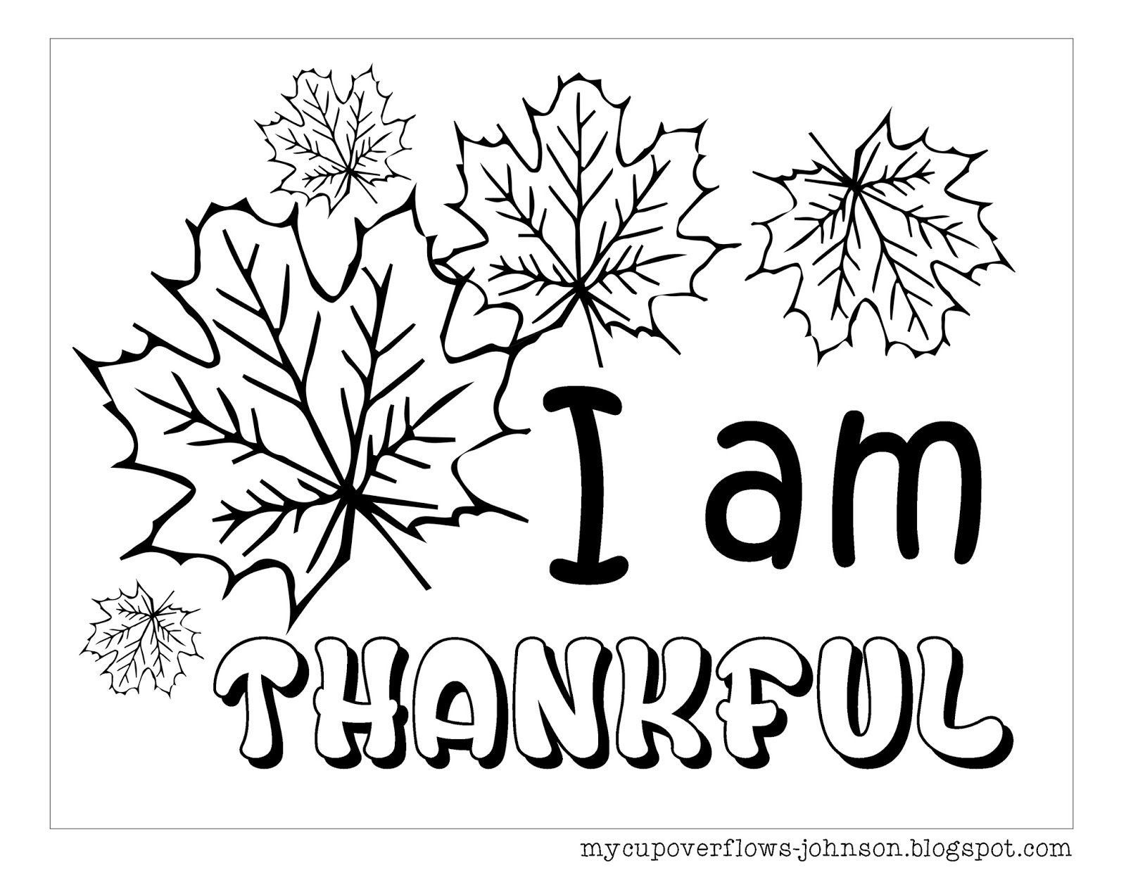Coloring Thankful Quotes - Doodle Art Alley | 1237x1600