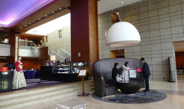 Seoul - Lobby Intercontinental Seoul Coex
