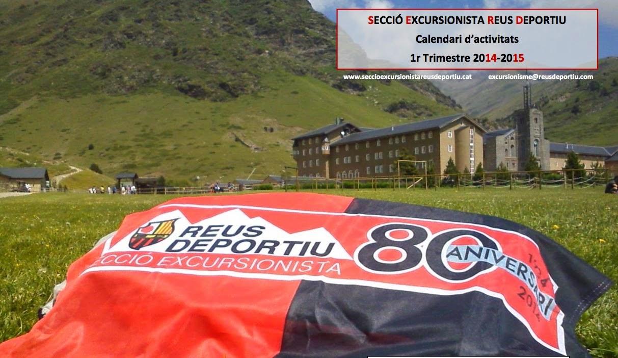 Calendari d'activitats 1r Trimestre 2014-2015