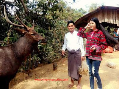 Myint Myat's Couple
