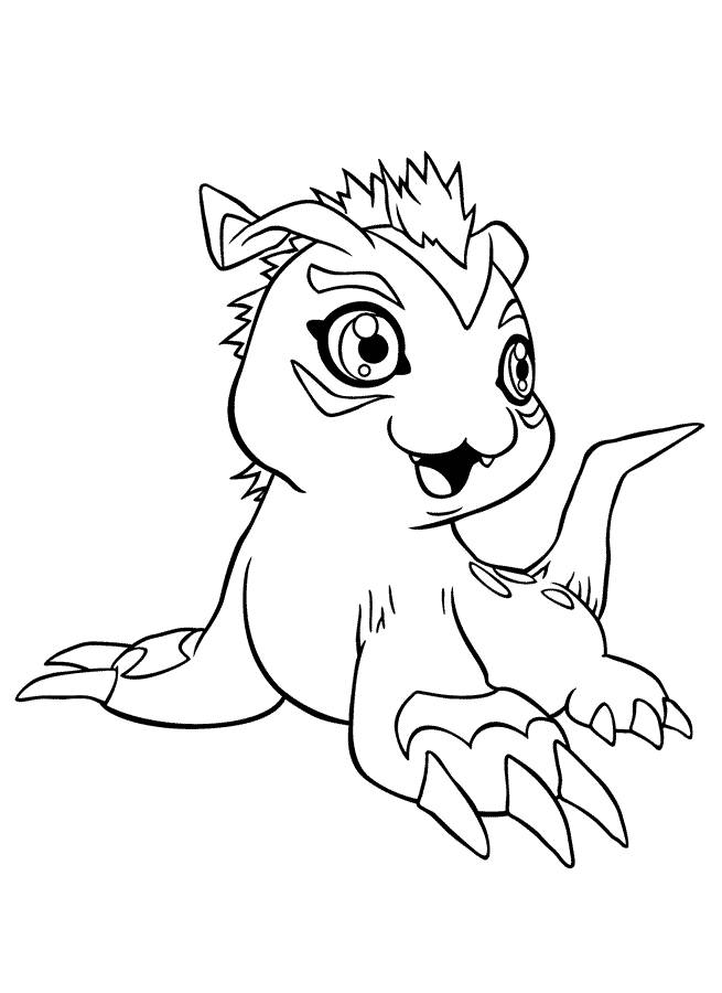 digimon data squad coloring pages - photo#47