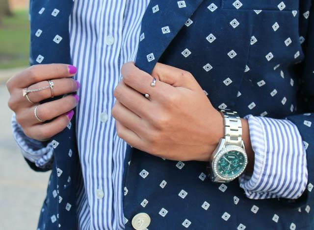 blazer, spring,calvin klein, fashion, outfit