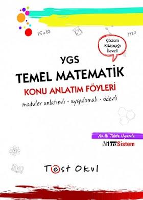 Test Okul TYT Temel Matematik Konu Anlatım Föyleri PDF indir