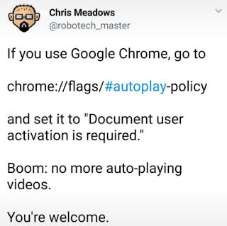Cara Mudah Agar Video Tidak Autoplay di Google Chrome