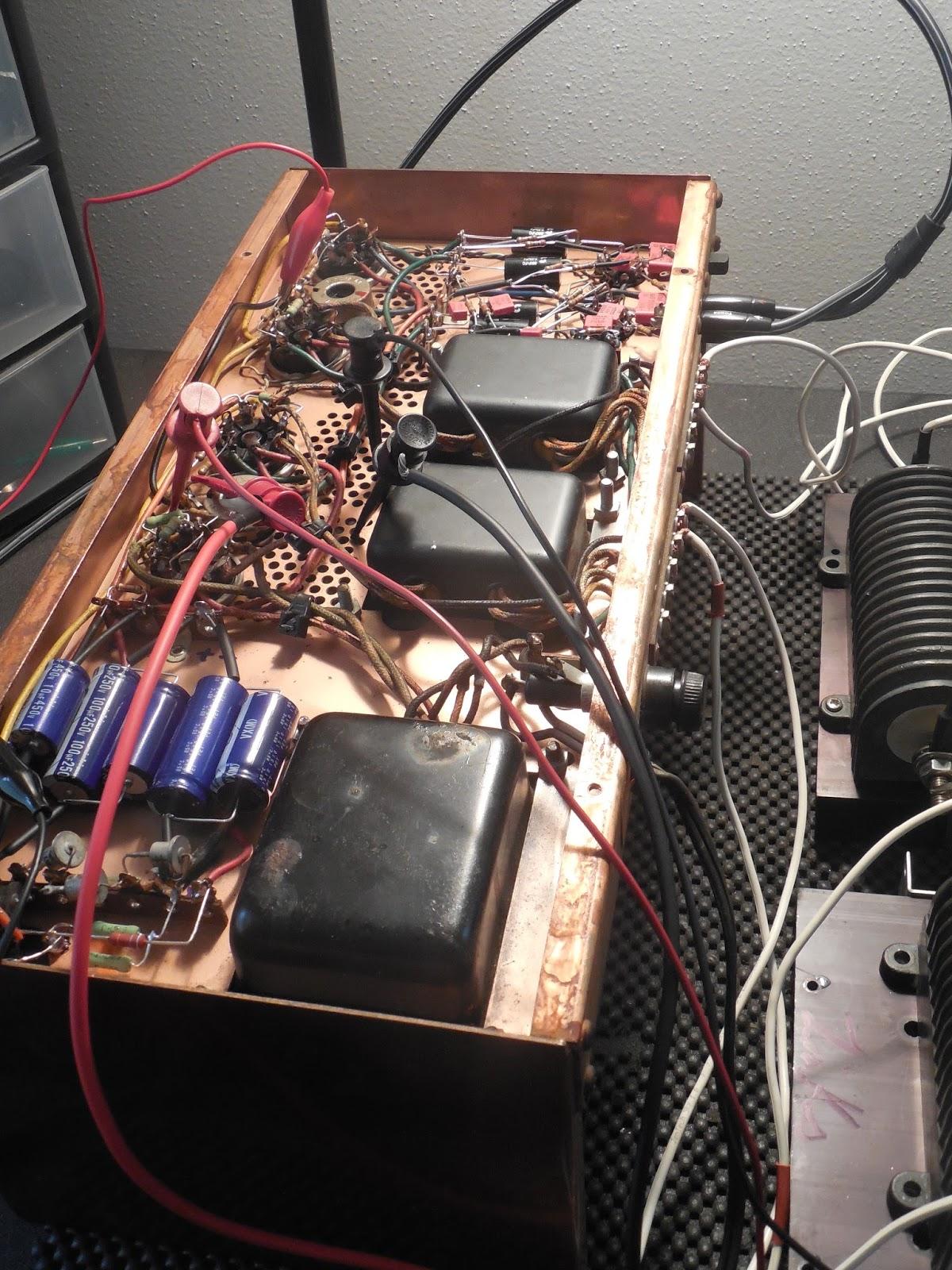 Harman Luxury Audio News: Vintage Hi-Fi Audio Restorations: Harman Kardon 250 Stereo Tube Power Amplifier