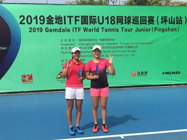 Janice Tjen/Chao Yi Wang Juara ITF G3 Shenzhen