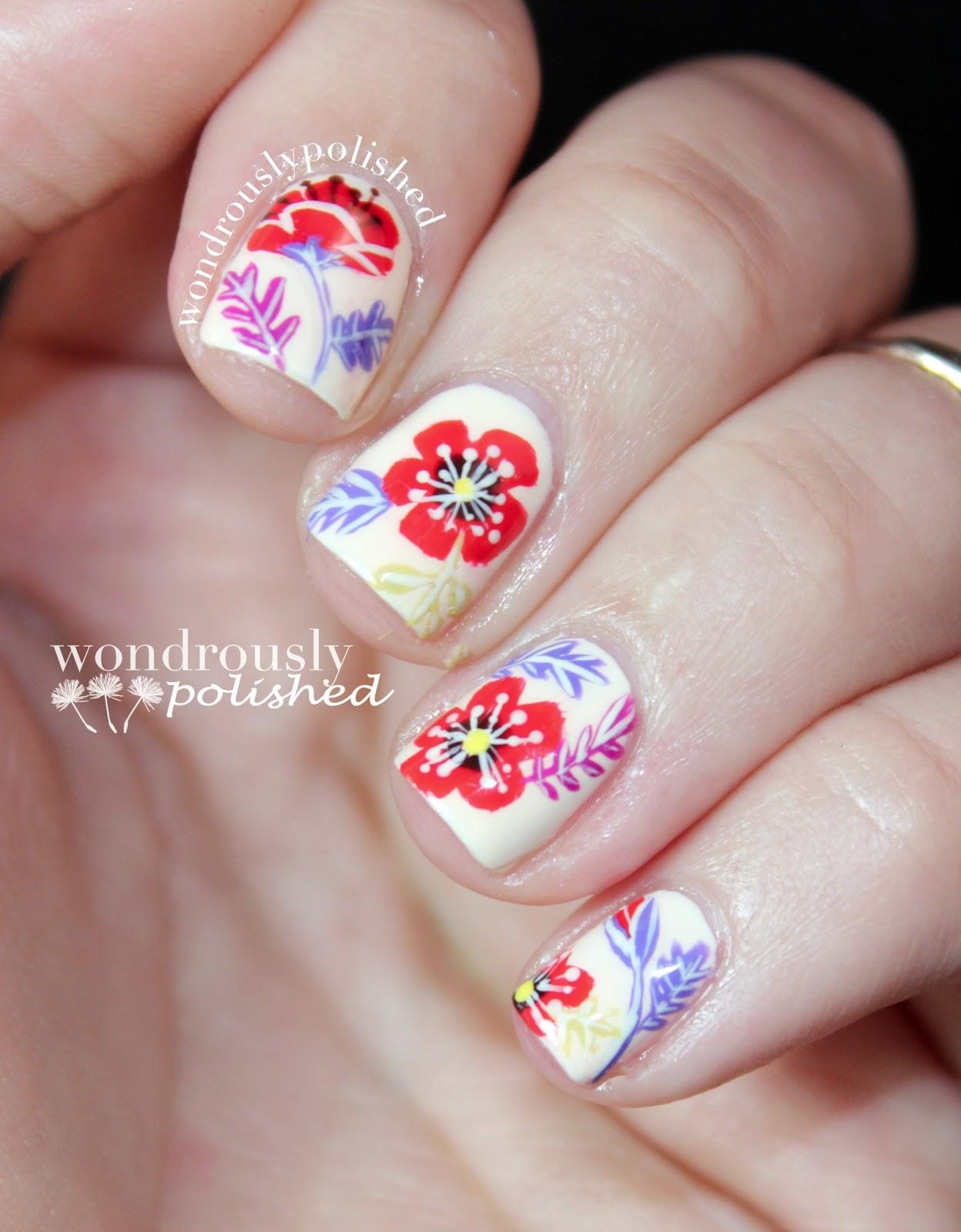 Wondrously Polished April Nail Art Challenge: Wondrously Polished: April Nail Art Challenge
