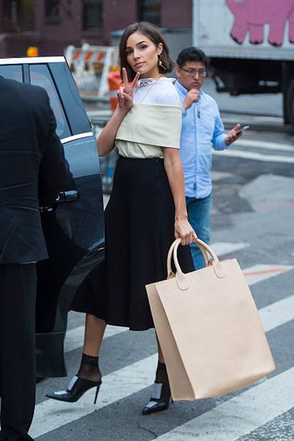 Olivia Culpo at NYFW