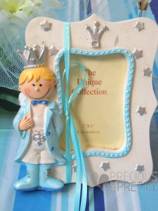Prince photo frame baby favors B046