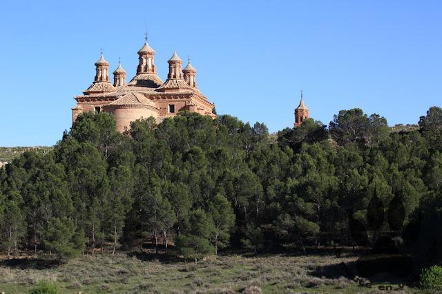 Espagne-aragon-sanctuaire-notre-dame-puyeo-belchite