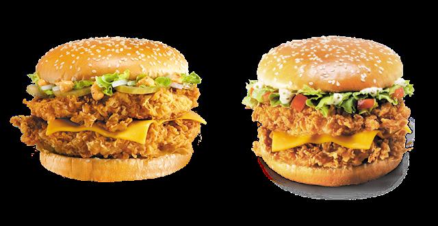«Дабл Шефбургер» и «Острый Дабл Шефбургер» в KFC, «Дабл Шефбургер» и «Острый Дабл Шефбургер» в КФС, «Дабл Шефбургер» и «Острый Дабл Шефбургер» в KFC состав цена стоимость пищевая ценность