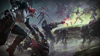 Raiders of the Broken Planet Desktop Wallpaper