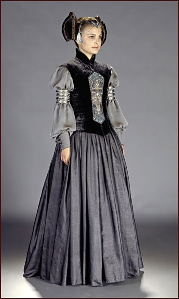 Blue Padme Star Dress Wars