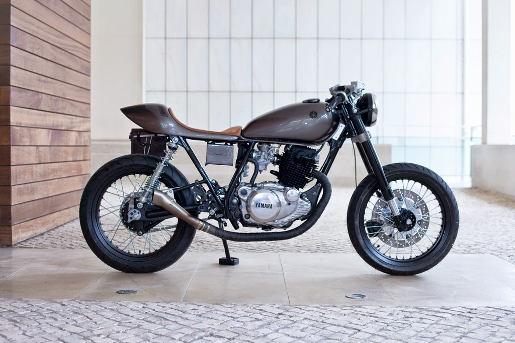 yamaha sr250 saudade ~ return of the cafe racers