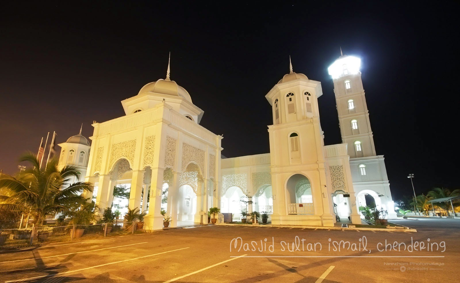 Masjid Sultan Ismail, Chendering