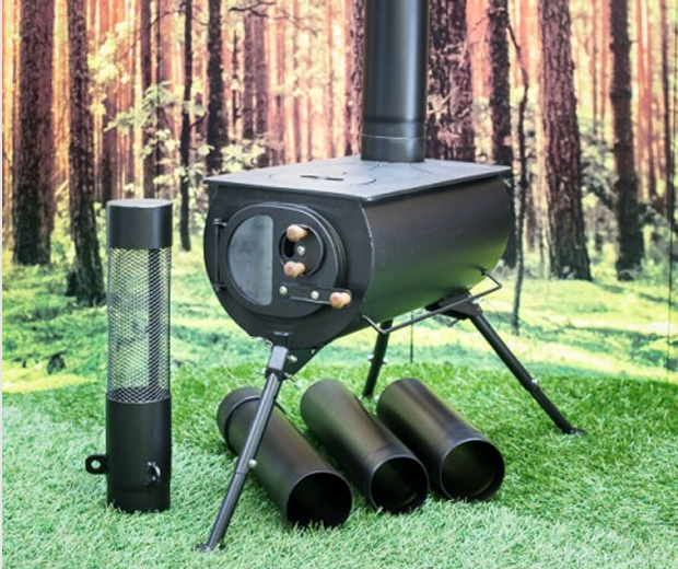 Frontier Plus Portable Woodburning Stove