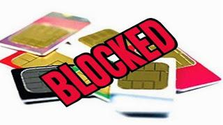 Sim card kaise block kare