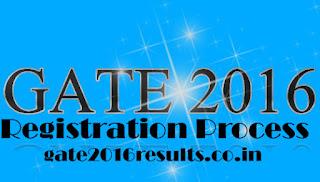 GATE 2016 Online Application Procedure
