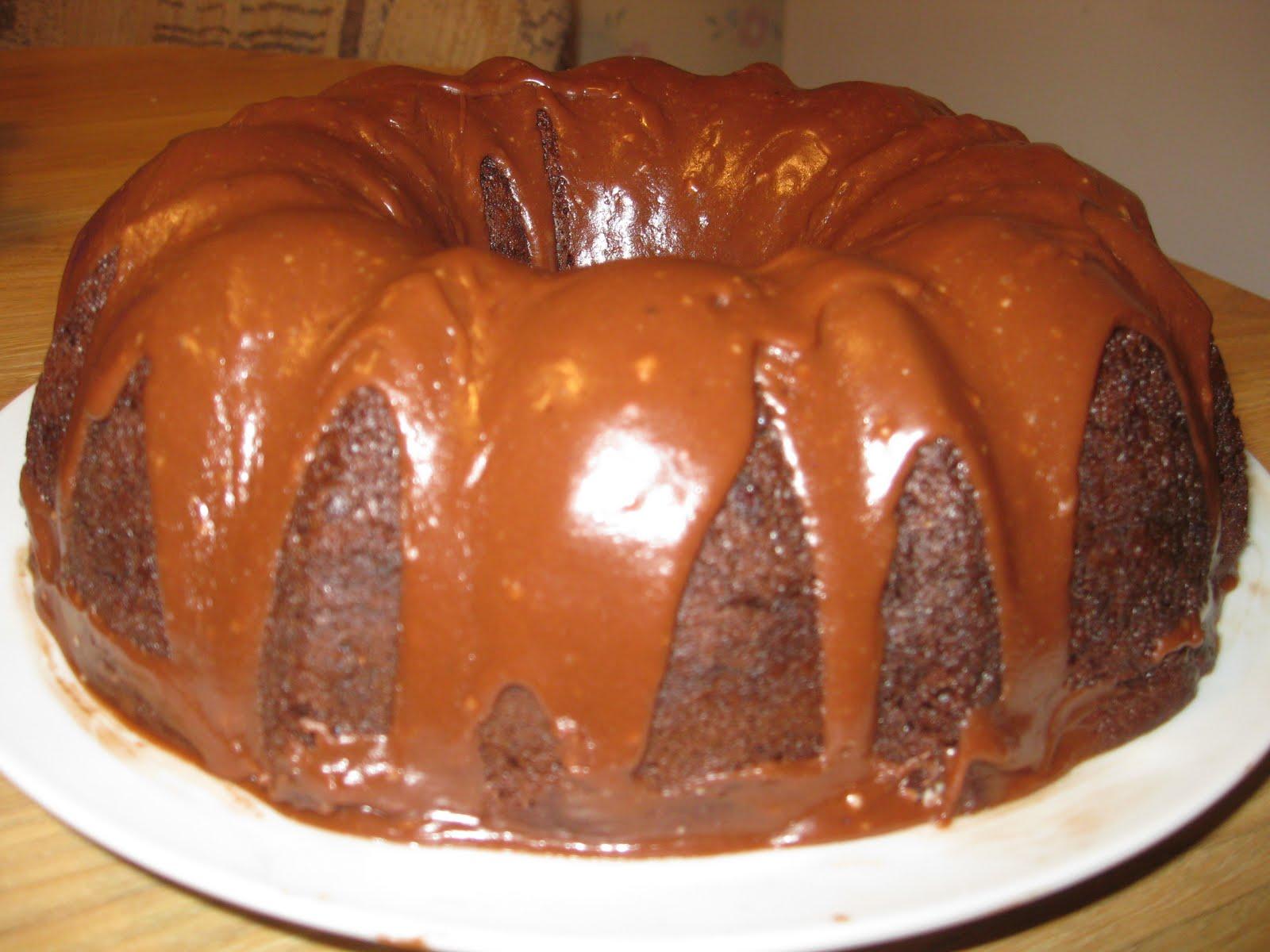 Nana S Recipe Box Best Chocolate Bundt Cake Ever