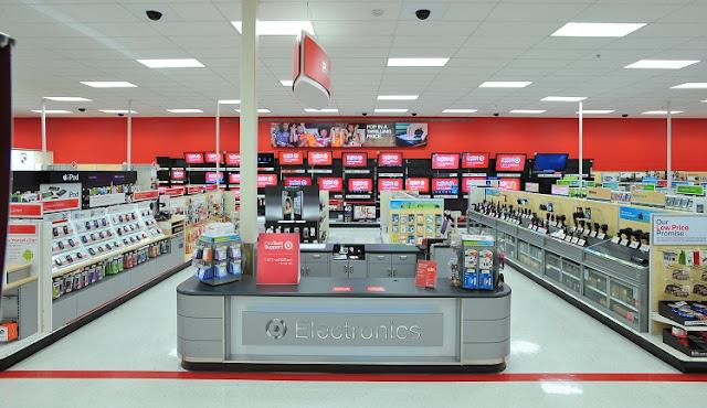 Loja Target em Miami - Eletronicos