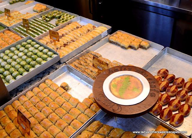 Turkish Sweets from Hafiz Mustafa 1864
