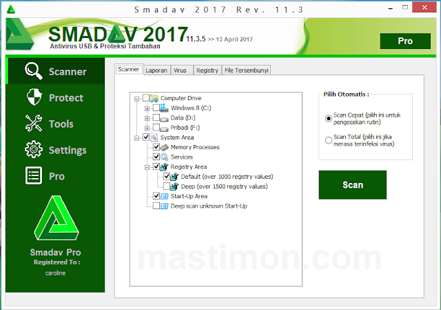 Smadav terbaru 2017 Rev 11.3.5 Full Keygen dan lengkap cara Instal