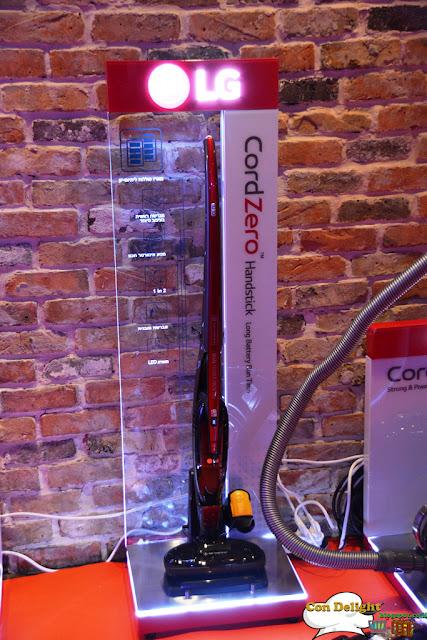 LG cordzero handstick vacuum cleaner