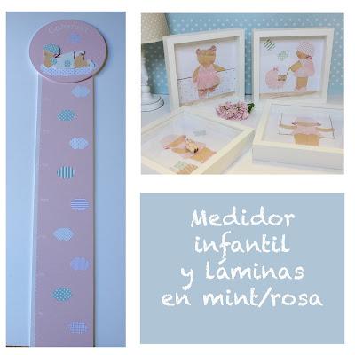 Medidores de pared, infantiles y personalizados