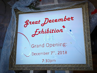 Great December Exhibition, December 7-28, 2018 Grand Opening at Gallery of Serbian Heritage Academy of Canada