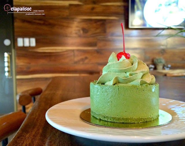 Matcha Mousse Cake from Jack Meets Kaldi Specialty Coffee