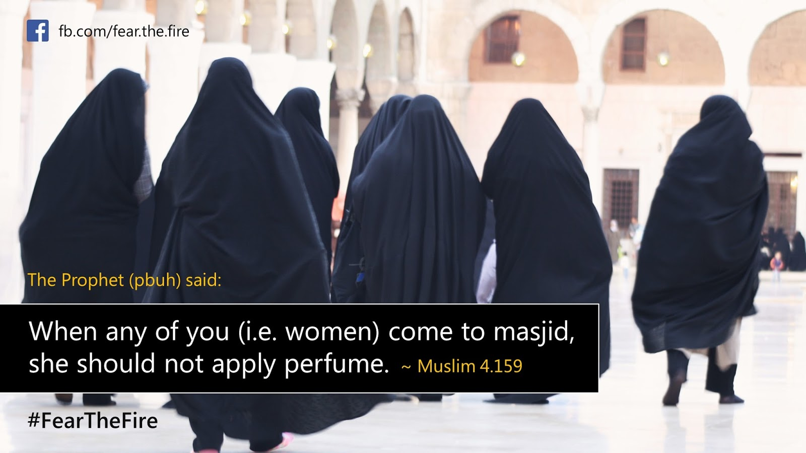 The Accursed Women in Islam - Inch Wide  Mile Deep  #FearTheFire