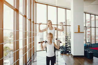 Keep an Eye on Children Exercising and Lifting Weight