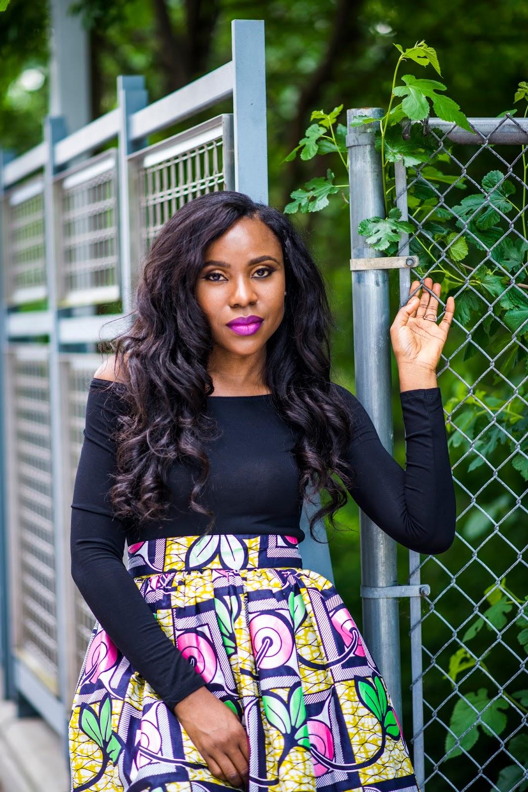 Ankara Skirt for Summer: Studio One Afrique