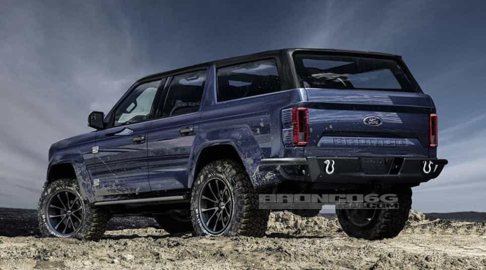 Release Date of New Ford Bronco
