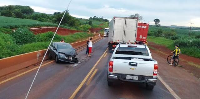 Ex-moradora de Faxinal se envolve em acidente em Marilândia do Sul