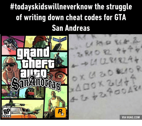 Men Who Used Cheatcodes on GTA: San Andreas As Kids Are More Prone to Be Broke And Divorced