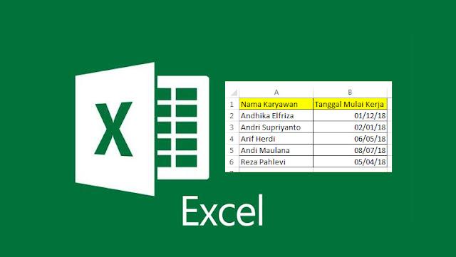 Mengubah Format Penulisan Tanggal di Microsoft Excel