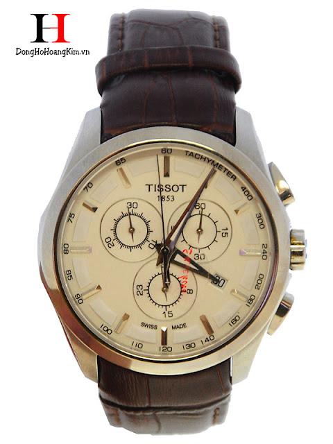 Đồng hồ nam Tissot dây da bán chạy nhất 2016