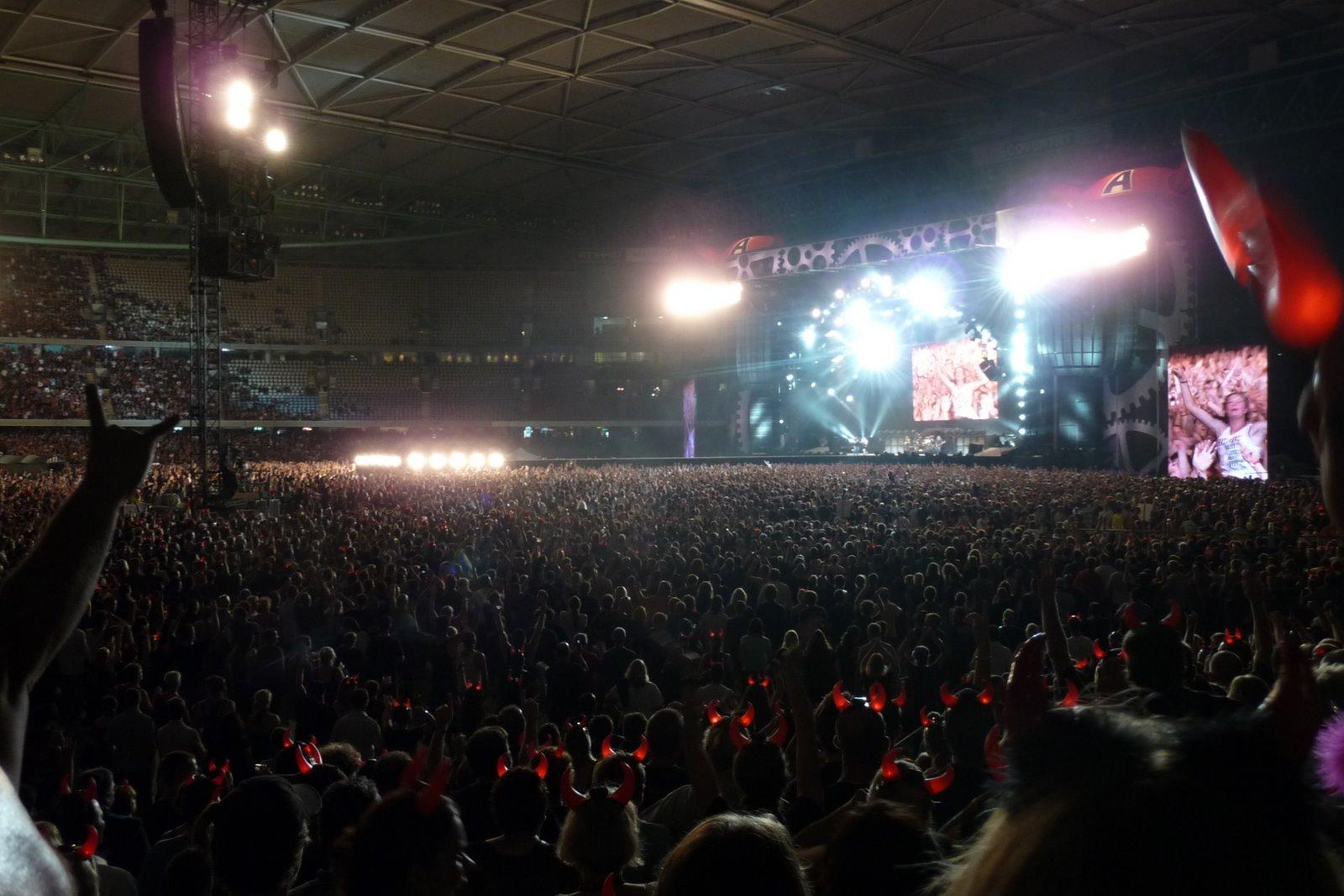 Sean & Andi's Concert Photos: AC/DC @ Etihad Stadium 2010