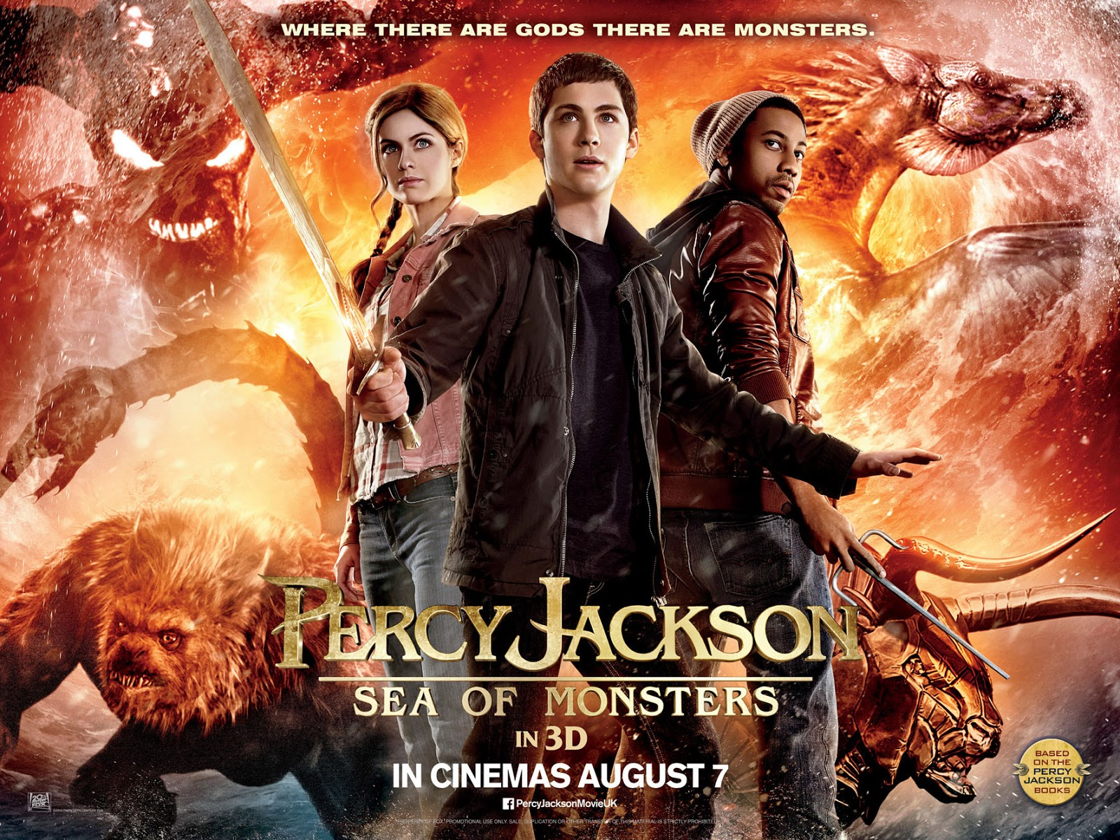 Focus Friday Percy Jackson Sea Of Monsters