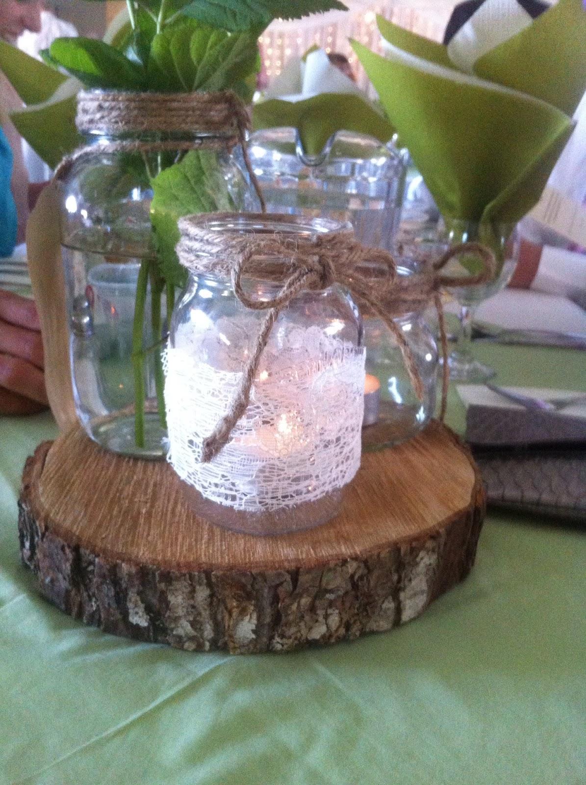 10 Marvelous DIY Rustic & Cheap Wedding Centerpieces Ideas ...  |Diy Rustic Wedding Table Centerpieces