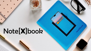 Note[x]book is the world's most effective refillable notebook