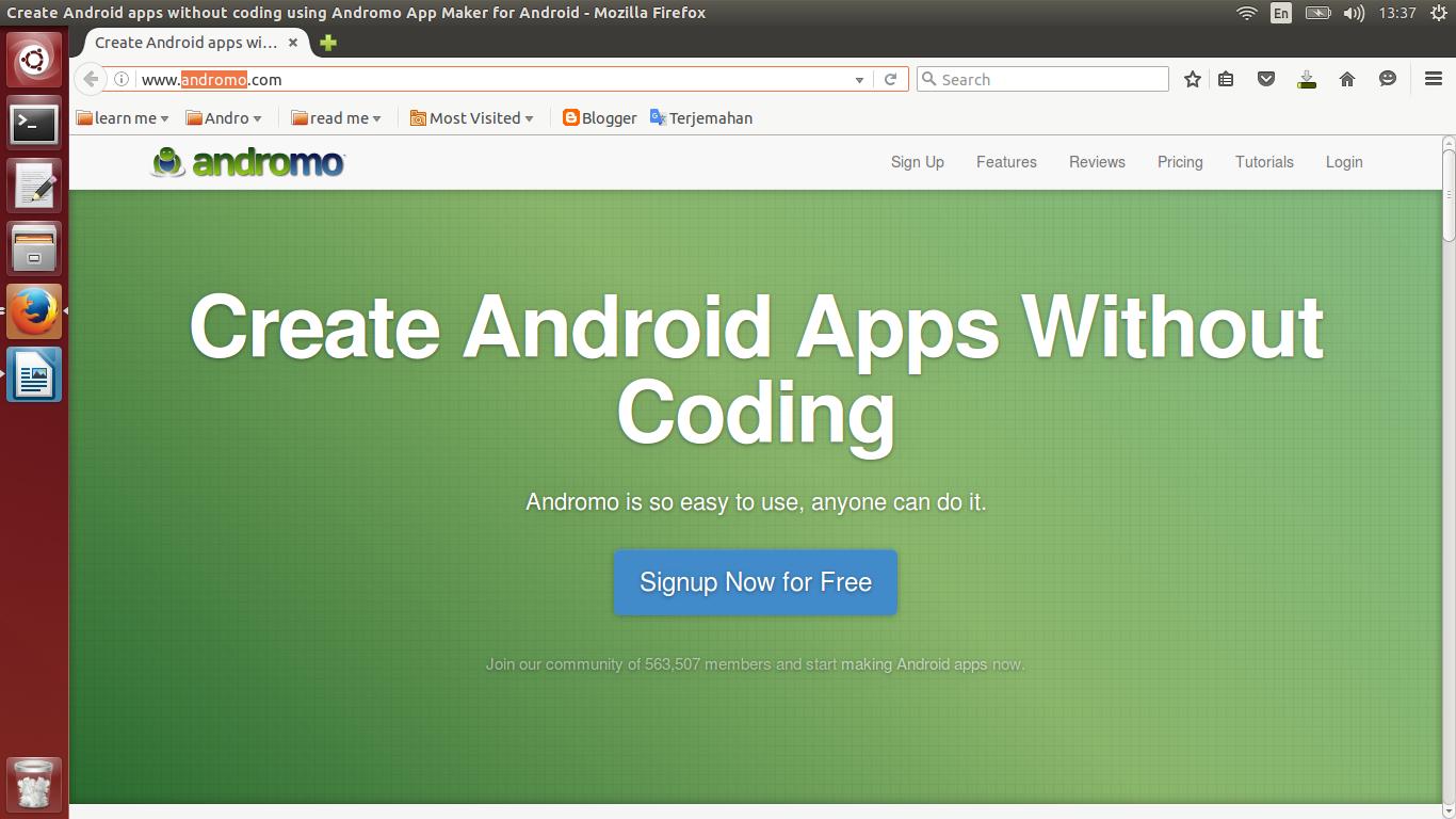 Membuat aplikasi Android tanpa coding - idnCoding