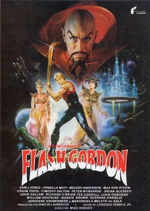 Poster Flash Gordon 1980