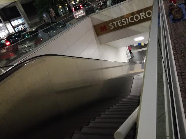 fermata stesicoro metropolitana di catania