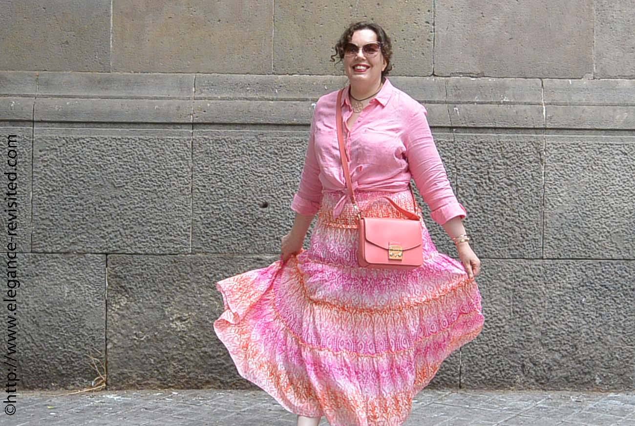 how to wear pastels over 40